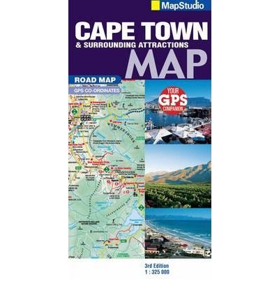 """Road Map Cape Town & Surrounds (""""Sheet map, folded"""") - Common pdf"""
