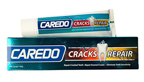 CAREDO Healing Teeth Crack Toothpaste, The ONLY Toothpaste Repairing  Cracked Teeth Enamel Cracks, Cure Tooth Sensitivity, Root Damage Teeth