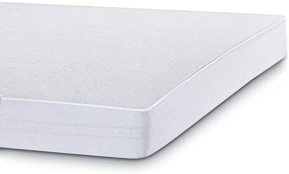 140x200 cm Utopia Bedding Prot/ège Matelas Imperm/éable Blanc Top en Coton /éponge Respirant