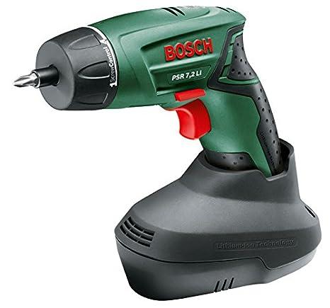 Bosch Home and Garden 0.603.957.700 Atornilladora a batería, 7.2 W, 7.2 V, Negro, Verde