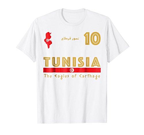 Tunisia Soccer Jersey 2018 World Football Cup Shirt Fan Gift