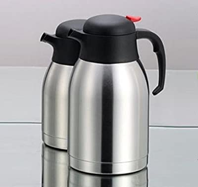 Wealers Double Wall Vacuum Insulated Stainless Steel Carafe Coffee Beverages Carafe, Thermal Carafe with Large Mouth Opening Capacity 50-ounce Keep Beverages Hot or Cold for 24 Hours