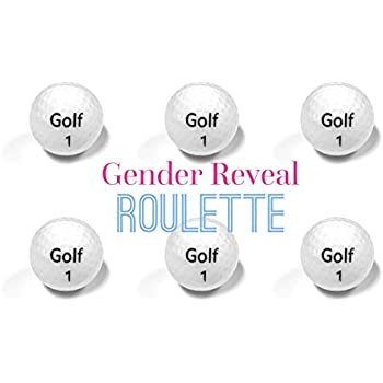 Golf Ball Gender Reveal ROULETTE
