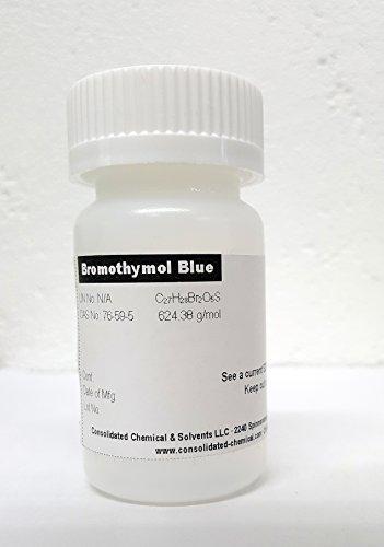 Bromothymol Blue Indicator (Solid/Powder) 10 Grams