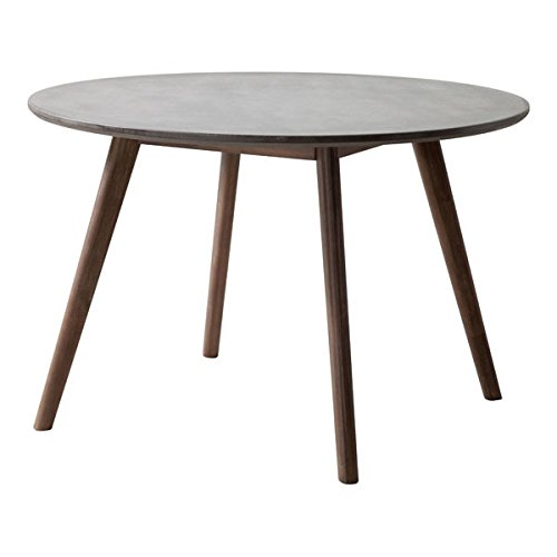 Aluminum Natural Dining Table - Zuo Elite Dining Table, Gray & Natural