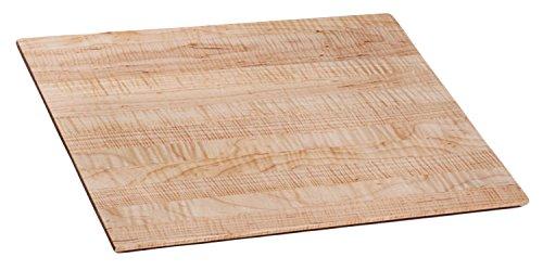 Burl blade curly maple cutting board butcher block