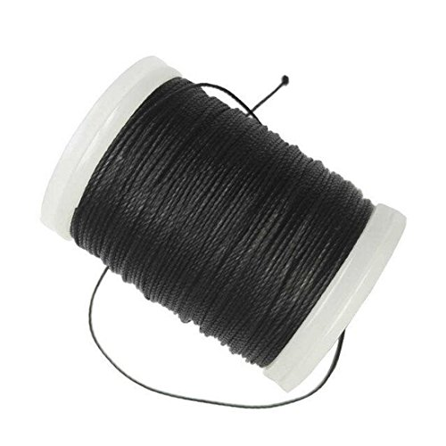 Archery Serving Thread Black Archery Bowstring Serving Material 131 Yards For Tying Peep Sight Nock