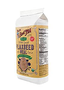 Bob's Red Mill Organic Brown Flaxseed Meal, 16-ounce (Package May Vary)