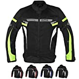 ALPHA CYCLE GEAR BREATHABLE BIKERS RIDING