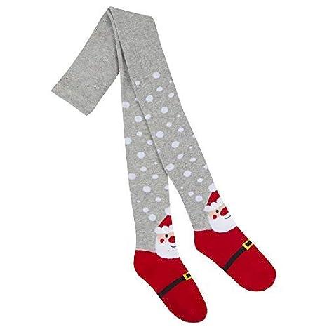 Mädchen NEUHEIT Festliche Weihnachten Strumpfhose Santa Rudolph Weihnachten strumpffüller 2-8yrs Jahre