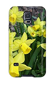 3838340K65169714 High Grade Flexible Tpu Case For Galaxy note4 - Yellow Flowers