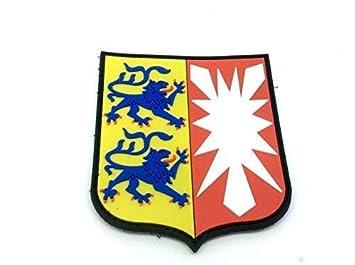 Patch Nation Schleswig Holstein Wappen Deutsch Kamm Pvc Klett