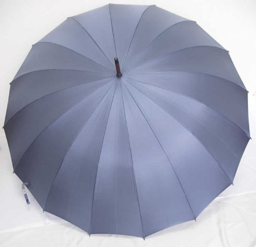 前原光栄商店 前原傘 紳士用 ブルーグレー 焼籐 B00A2EUZR2