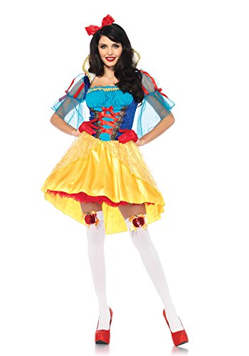 Leg Avenue Women's Storybook Classic Snow White Costume, Multi, X-Large
