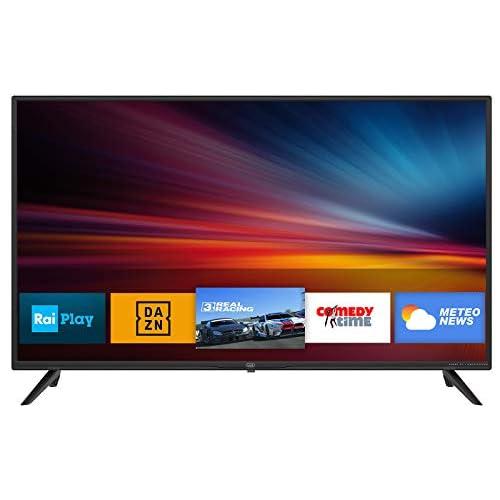 """Trevi LTV 4008 Smart TV 40"""" con decodificador Digital DVBT-T2 y satélite DVBS-S2, Sistema operativo Android, resolución 1920 x 1080 PPP Full HD a buen precio"""