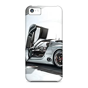 Durable Protector Case Cover With Nice Porche Hot Design For Iphone 5c