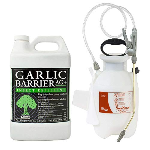 Garlic Barrier AG+ Liquid Spray (1 Gallon) with Chapin 26010 SureSpray Deluxe Sprayer (1 Gallon) Bundle