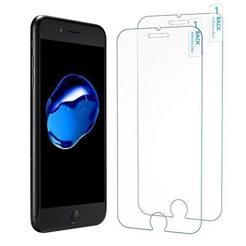2 opinioni per [Adatta ad ogni custodia](Confezione da 2) Pellicola Vetro Temperato iPhone 8
