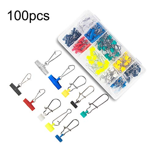 Fishing Duo-lock Snap Stainless Steel Fast Lock Snaps Connector #0-#5 100pcs HX