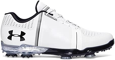 079eb627a7 Under Armour New Jordan Spieth One White/Black Golf Shoes Mens Size ...