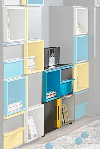 Dormitorio Juvenil Estantería Jakob 29 Color Antracita
