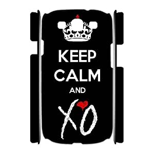 3D Bloomingbluerose the Weeknd Quotes,keep Calm and XO Samsung Galaxy S3 Cases, {White}