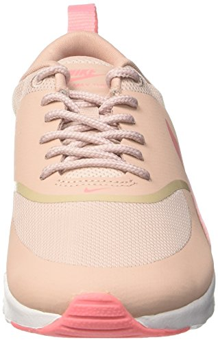 Bright Melon Pink Max NIKE Air Oxford white Baskets Femme Rose Thea Rose Basses wz0FP5q0x