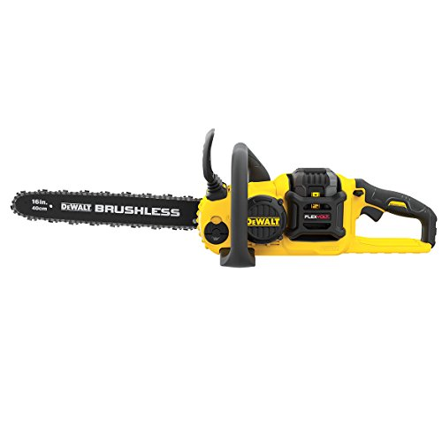 "DEWALT DCCS670X1 FLEXVOLT 60V MAX Lithium-Ion Brushless 16"" Cordless Chainsaw"