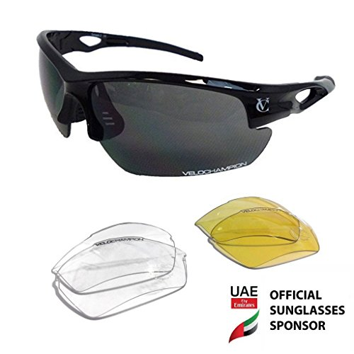 VeloChampion 1822 Tornado Sunglasses Black product image