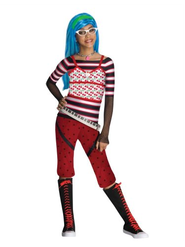 Rubies Girls Monster High Ghoulia Yelps (Monster High Ghoulia Yelps Child Costumes)
