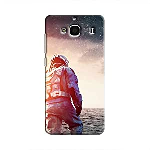 Cover It Up - Space Water Walk Redmi 2 Prime Hard Case