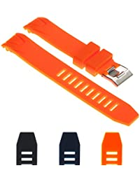Silicone Rubber Watch Band Strap 20mm 22mm
