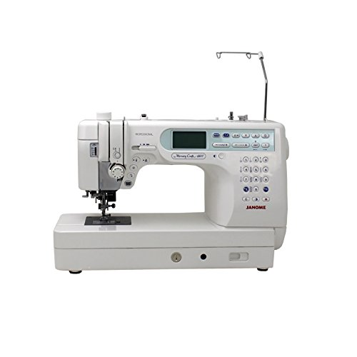 Janome Memory Craft 6600P Professional Computerized Sewing Machine With Exclusive Bonus - Sewing Machines Craft Memory