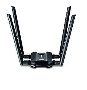 Trendnet AC1900 High Power Dual Band Wireless USB Adapter, TEW-809UB