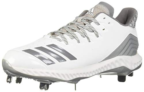 adidas Men's Icon Bounce, White Grey, 10 M ()