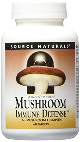 2 pack! Mushroom Immune Defense, 16 Mushroom Complex, 2 x 60 tablets