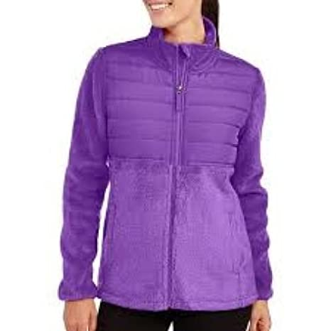 8bb0d56e9b6 Amazon.com   Faded Glory Full Zip Sport Fleece Jacket Purple- Size M (8-10)    Everything Else