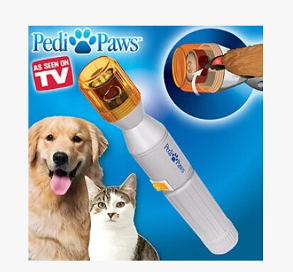 Pedi Paws Dog Nail Grinder by BulbHead - Professional Style Dog Grooming Using Gentle Filing Wheel for Your Pet's Happy Paws by PediPaws (Image #5)