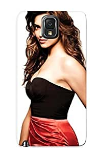 For Iphone 4/4S Case Cover Hard Phone (deepika Padukone Bollywood Celebrity Actress Model Girl Beautifulsmile ) For Thanksgiving Day's Gift