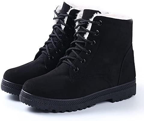 NOT100 Winter Fur Snow Boots Warm Sneakers for Women