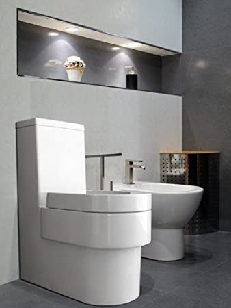 Wellness-Design Toilette, Klo Set frei stehend am Boden ...
