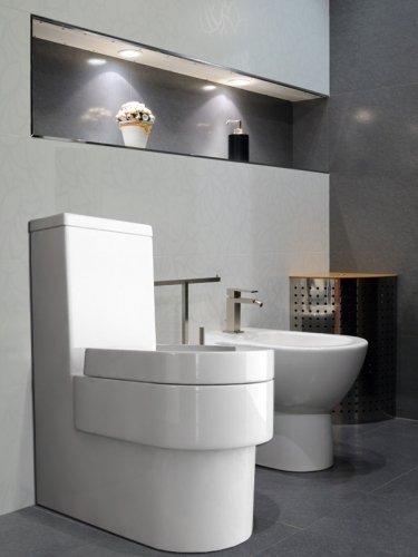 Wellness-Design Toilette, Klo Set Frei Stehend Am Boden
