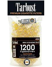 Tarbust Wegwerp Sigaretten Filters, Anti-Teer Sigarettenfilter, 8 mm, bulkverpakking, 1200 per verpakking, filtertips