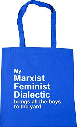 Aciano Gimnasio Marxista Cm Trae Feminista Dialéctica De Playa 42 Bolsa Compras Azul X38cm De Litros Mi Bolsa El Hippowarehouse Todo De La 10 A Patio qW6tSEf
