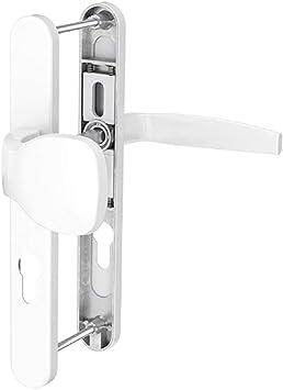 Rolll/ädengriff//Dr/ücker, Silber 92mm Schmalrahmengarnitur Schutzbeschlag Schildgarnitur Wechselgarnitur 8