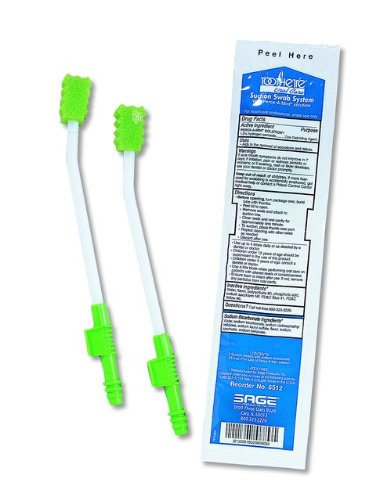 Hal6512 Toothette Plus Suction Swab - 1