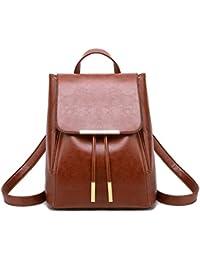 e0eb277931e7 Fashion Shoulder Bag Rucksack PU Leather Women Girls Ladies Backpack Travel  bag