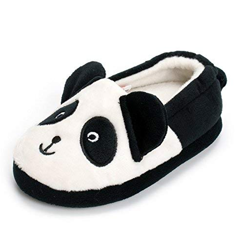 Toddler Boys Panda Slipper Cartoon Cute Animals Winter Cotton Warm Shoes
