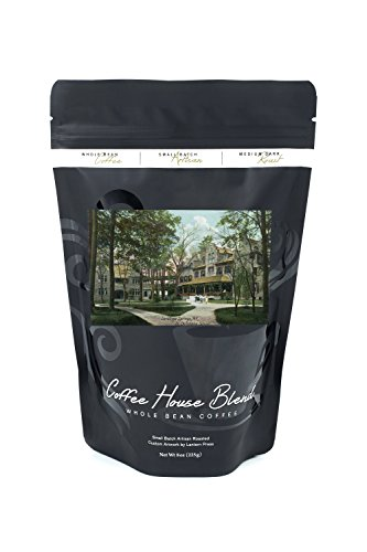 Saratoga Springs, New York - St. Christiana School and Grounds (8oz Whole Bean Small Batch Artisan Coffee - Bold & Strong Medium Dark Roast w/ - 8 St Spring