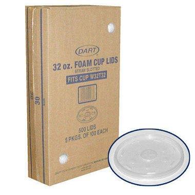 Dart Foam Cup Lids - 500/32oz (pack of 6)